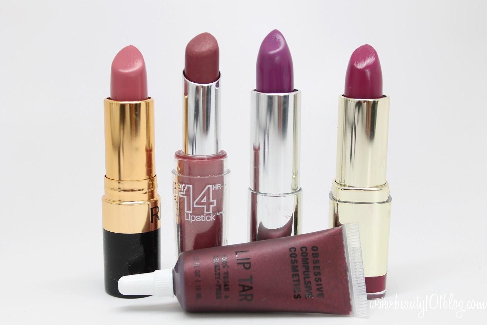 My Favorite Fall & Winter Lipstick Colors