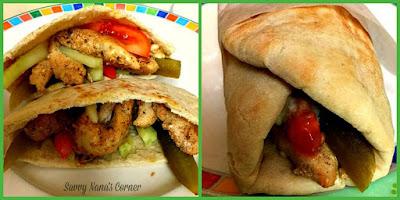 Chicken Shawarma Sandwich