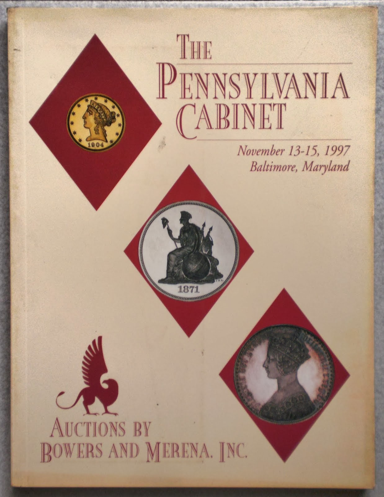 The Pennsylvania Cabinet, Baltimare Maryland 1997