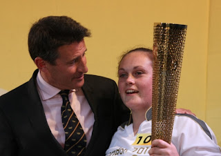 Jimmy Discovers the Olympic torch