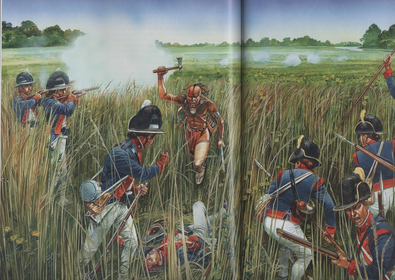 what was the battle of the fallen timbers