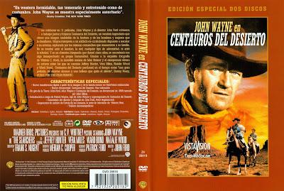 Centauros del desierto | 1956 | The Searchers, Cover, Carátula, Dvd