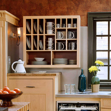 Modern furniture open storage ideas 2012 add style to your kitchen