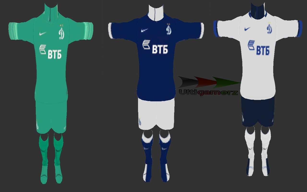 Dynamo Moscow Kit Dynamo Moscow 2015-16 Kits Pes
