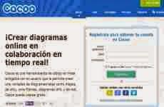 Cacoo: para crear diagramas colaborativos online en tiempo real