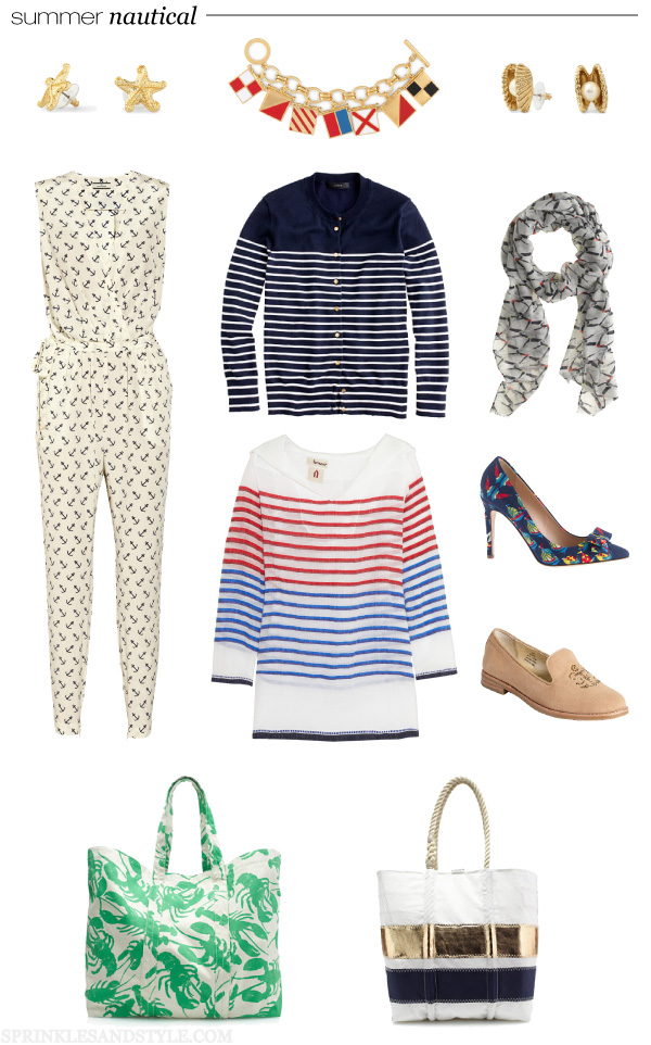 Sprinkles and Style || Summer Nautical Style