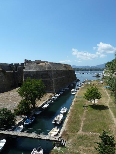 Contrafossa der Alten Festung von Korfu