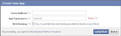 """Cara Membuat Aplikasi """"Via Apa Saja"""" Untuk Status Facebook"""