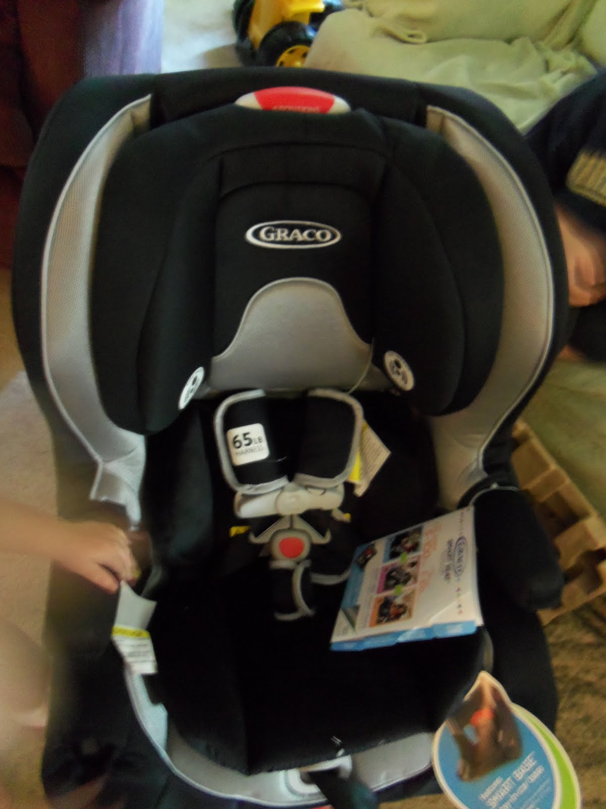 we try the graco smartseat all in one convertible car seat lille punkin 39. Black Bedroom Furniture Sets. Home Design Ideas