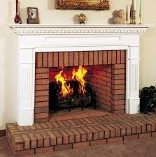 Fotos y dise os de chimeneas chimeneas de ladrillos - Chimenea rustica de ladrillo ...