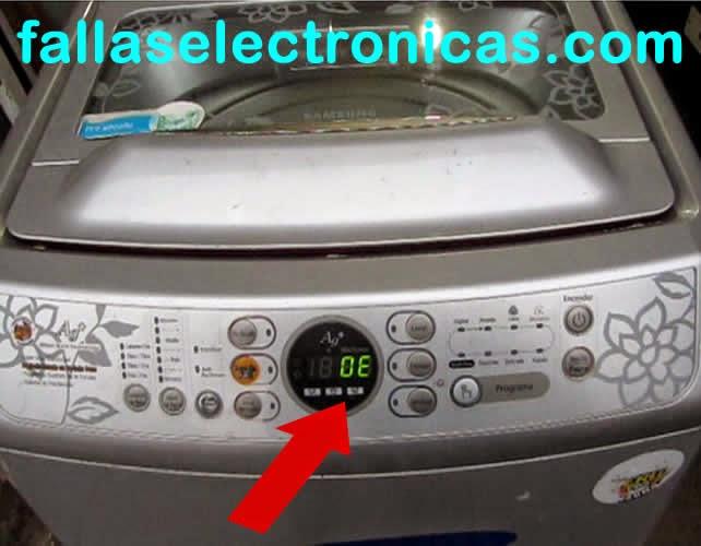 error oe en lavadoras samsung fallaselectronicas com rh fallaselectronicas com