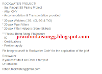 Kerja Kosong RockWater