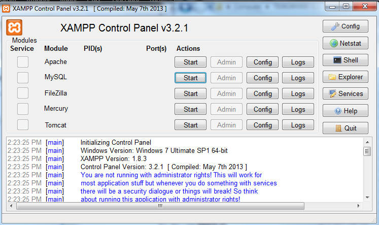 xampp download 64 bit