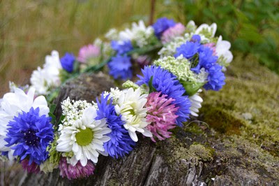 blommor, sommar, midsommar, fest, familj, vänner, Villa Humlebo,