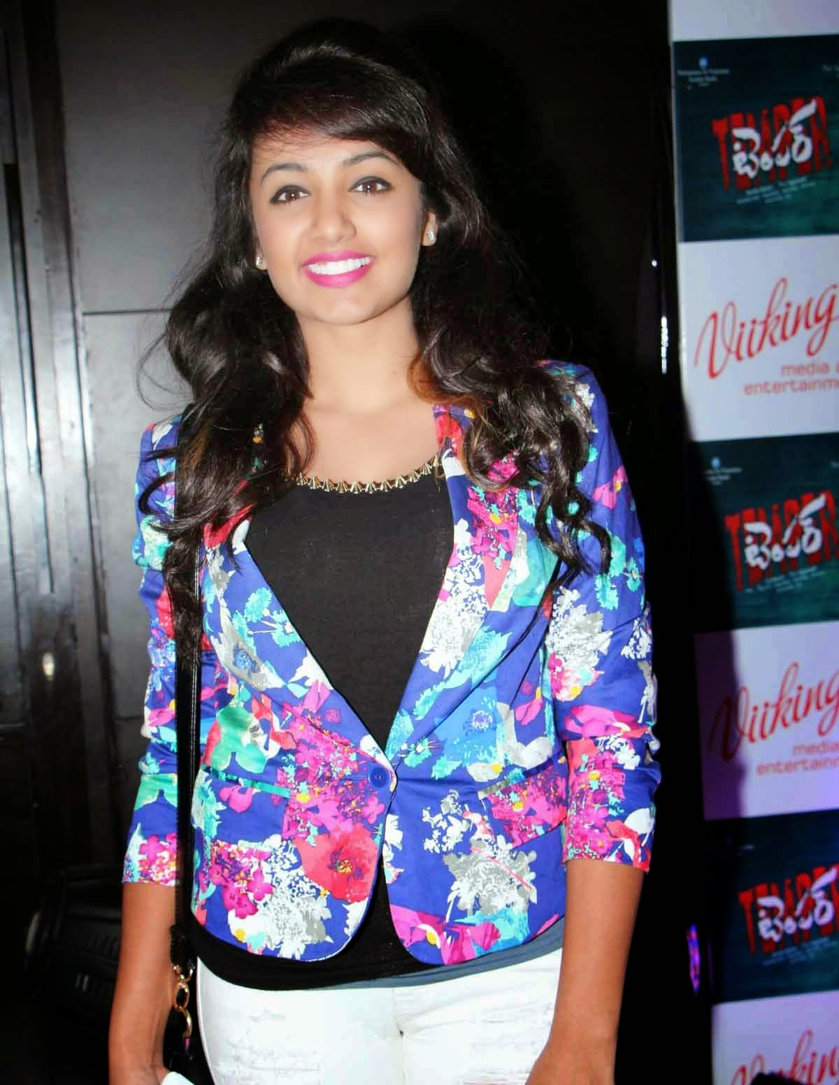 Actress Tejaswi Madivada Latest Cute Hot Spicy Photos Gallery At Temper Movie Sucess Party