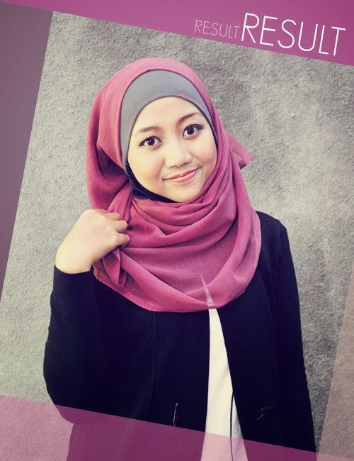 jilbab segi empat 6