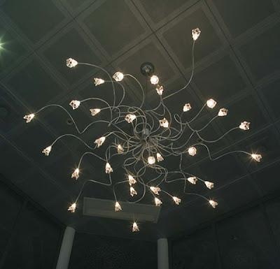 Mi casa mi hogar l mparas de cristal modernas de techo - Lamparas minimalistas de techo ...