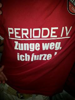T-Shirt: Periode IV. Zunge Weg, ich furze!