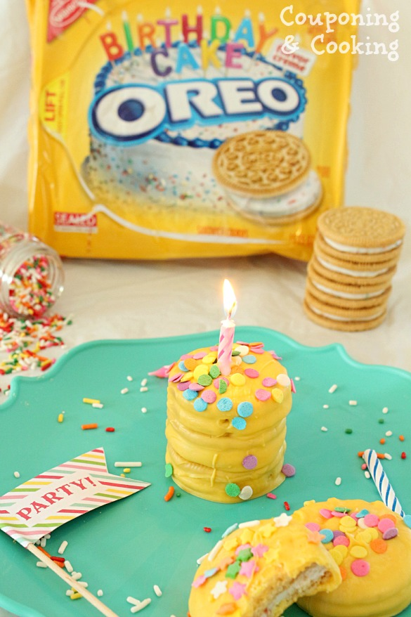 ... Tastes: Bite Sized Birthday Cakes Made With Golden Birthday Cake Oreos