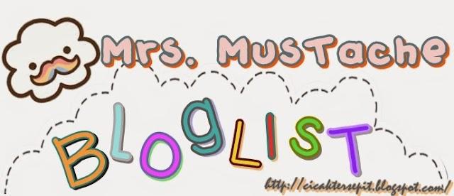 Segmen Mrs. Mustache Bloglist