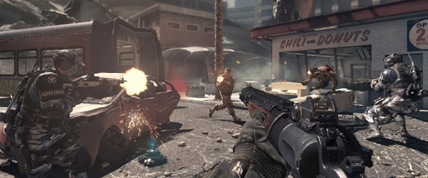 CoD Ghosts All Guns and All 13 Weapon CAMOS