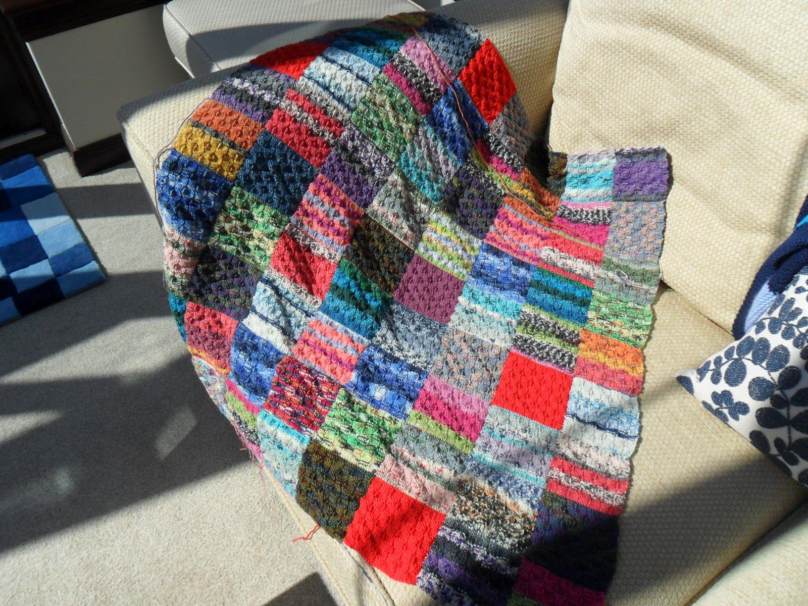 Free Knitting Patterns For Leftover Sock Yarn : Less equals more: Sock yarn leftovers