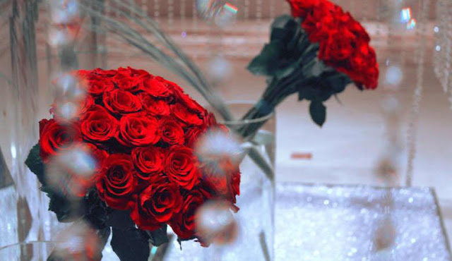 Image of a red rose, romantic and very beautiful