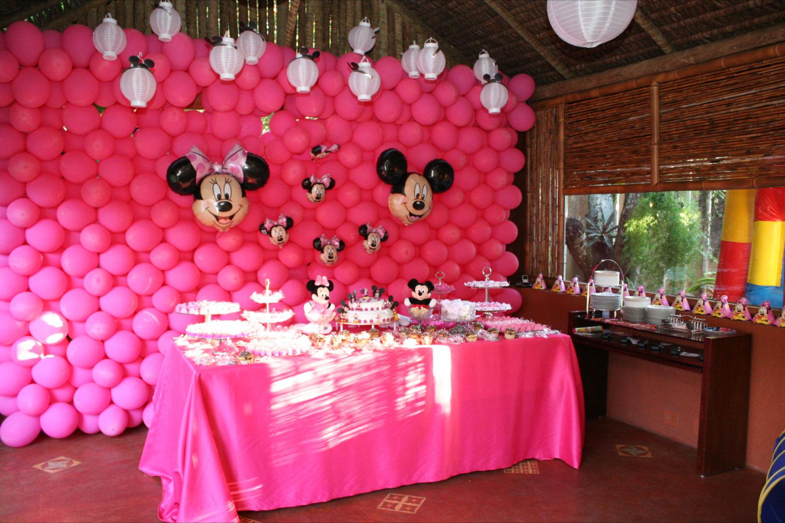 decoracao festa minnie rosa : decoracao festa minnie rosa:Mesa De Festa Da Minnie Rosa
