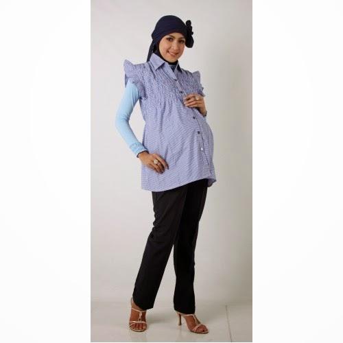 Model Baju Hamil Muslim Modern Modis