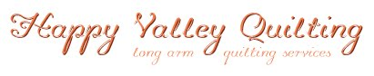 Happy Valley Quilting