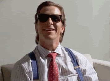 AMERICAN PSYCHO GIF