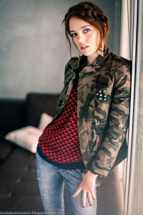 Moda invierno 2013 de Scombro Jeans