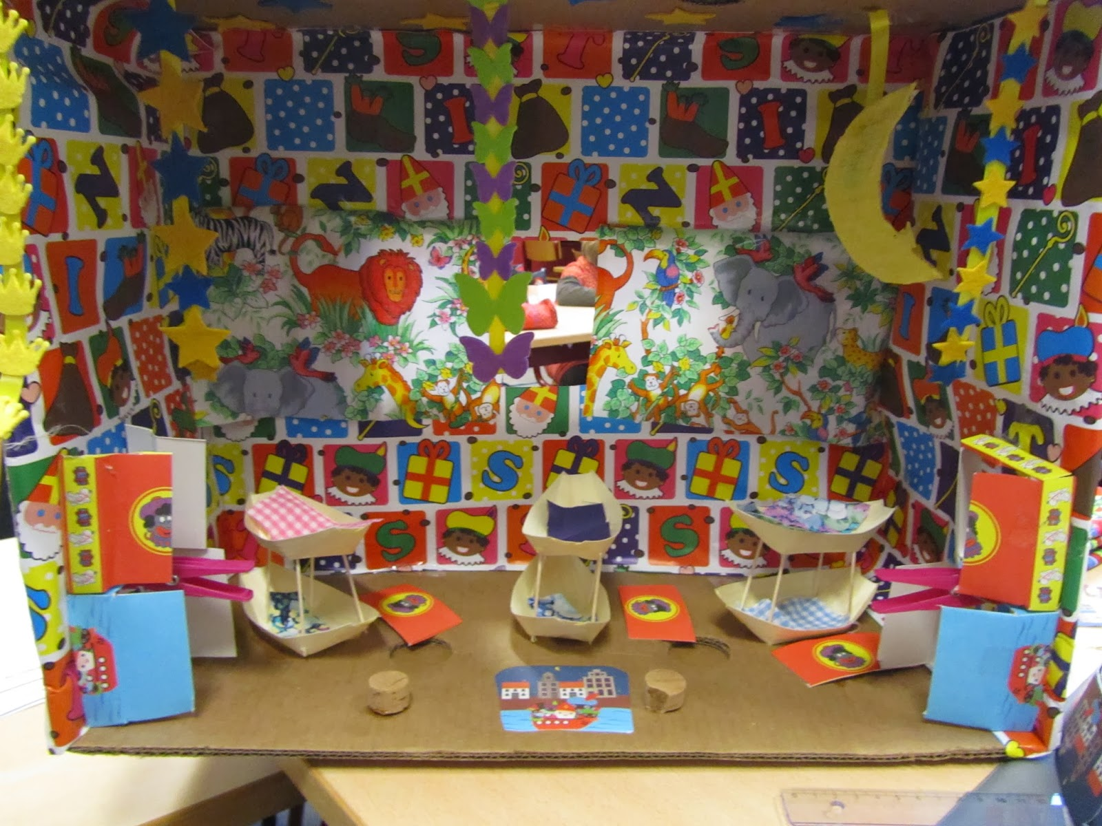 Jungle Thema Slaapkamer : Jungle book klas 2b: slaapkamer zwarte piet