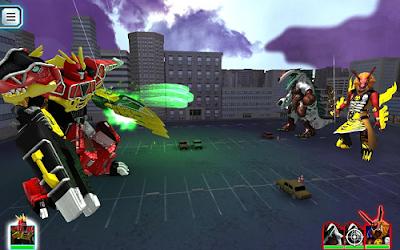 Power Rangers Dino Rumble apk mod