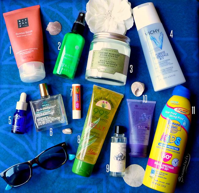My Summer Beauty Essentials for Skin and Body: cosmetics, fragrance, hair