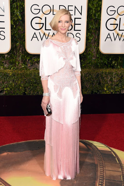 Cate Blanchett Givenchy  Golden Globes 2016