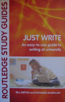Just Write  (Non-fiction)