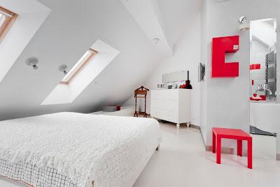 Ruang Tidur Warna Putih 8