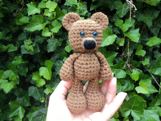 Amigurumi Bigfoot Bear : Little Bigfoot Bear Tail Smaller Muzzle ~ Amigurumi To Go