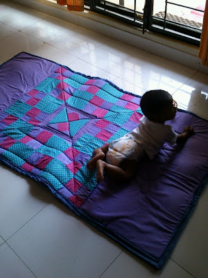how to make a baby playmat