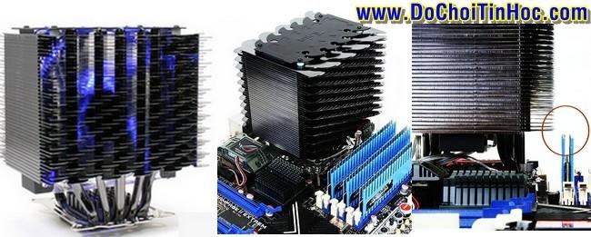PHỤ KIỆN high-end PC: Tản nhiệt CPU, keo cao cấp, FAN 8-23cm, đồ mod PC, HÀNG ĐỘC!!! - 5