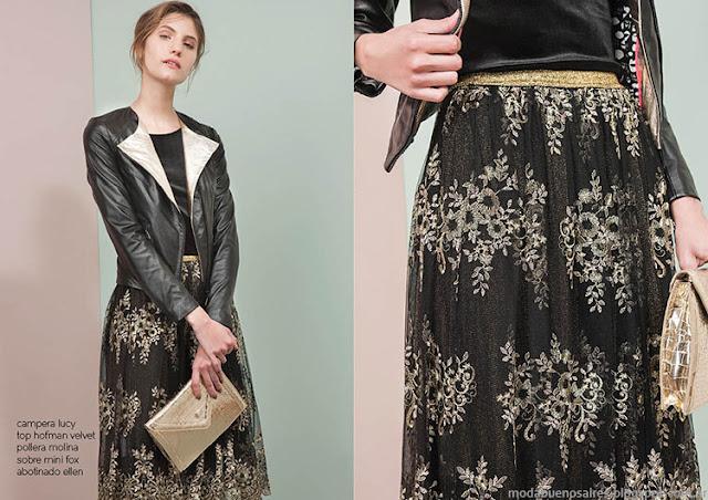 Camperas invierno 2015 moda Las Pepas. Moda otoño invierno 2015.