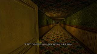 Um corredor misterioso...