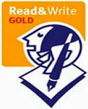Read and Write Gold logo