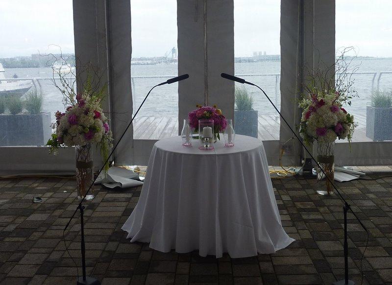 Bella Style New England Aquarium Wedding