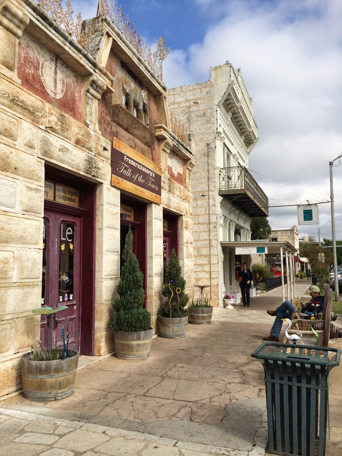 historic street Texas