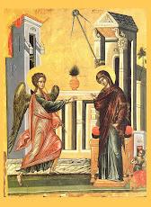 Set 32 Icoane praznicale bizantine pentru inchinare - sarbatori si sfinti cu cruce rosie