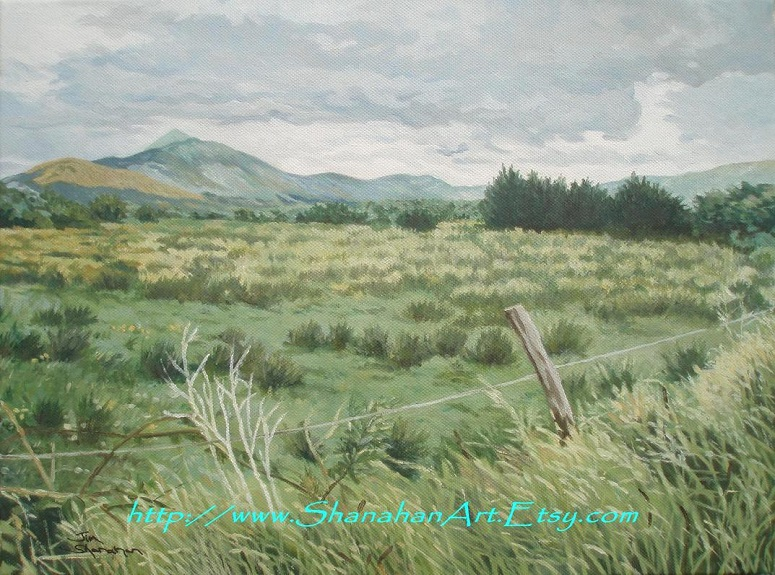 Croagh Patrick from Delphi Valley Road -- For Sale Framed Euro 290