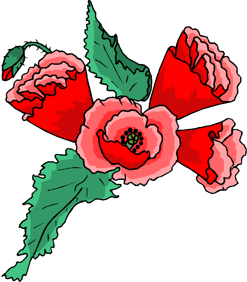 Flower Clipart | Red Flower Free Clipart