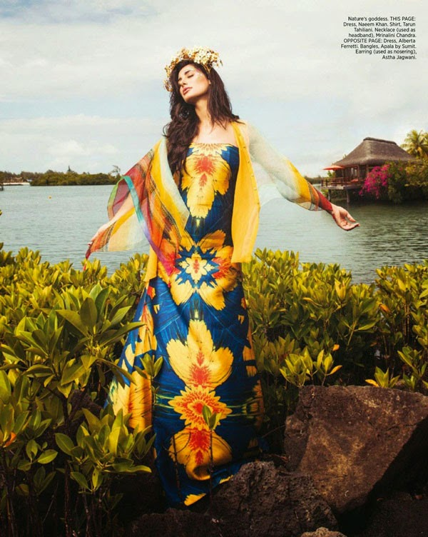 Nargis Fakhri in Harper Bazaar Bride Magazine Issue